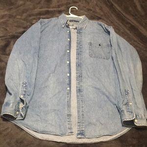 XL Ralph Lauren Denim Pocket Shirt
